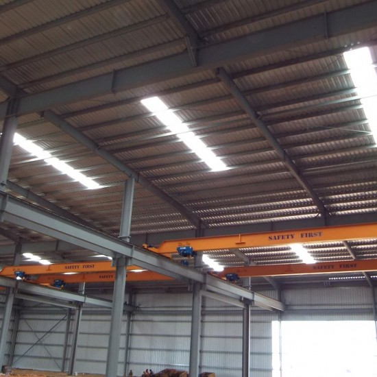 Workshop & Warehouse installed with various cranes