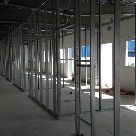 dự án nhà ở công nhân và nhà kho